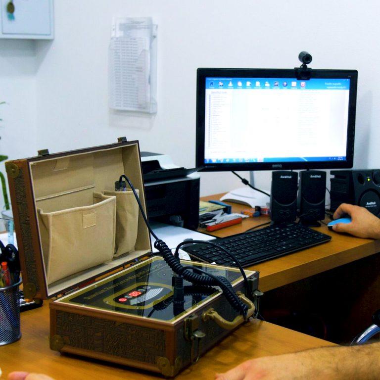 Kvantni magnetni analizator aparat za kvantne biorezonantne tretmane koji se rade u centru za pravi tretman u Požarevcu